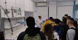 Visita de estudo da Escola Secundária Augusto Cabrita